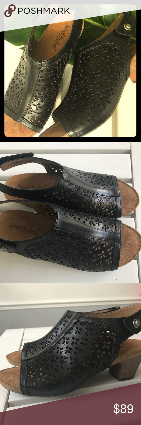 🌴NEW JOSEF SEIBEL SANDALS🌴 Never worn, Josef Seibel, made in Germany. Styke, Ruth 33 Laser-Cut Leather Sandals. Super stylish but very comfy❤️ Josef Seibel Shoes Sandals