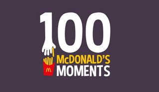 Awesome Web Design of the Week — McDonalds 100 Moments