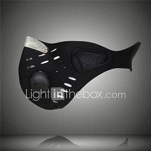 Masque de protection contre la pollution Cyclisme Respirable Garder au chaud Pare-vent Résistant à la poussière Homme Noir de 2229921 2017 à €6.78