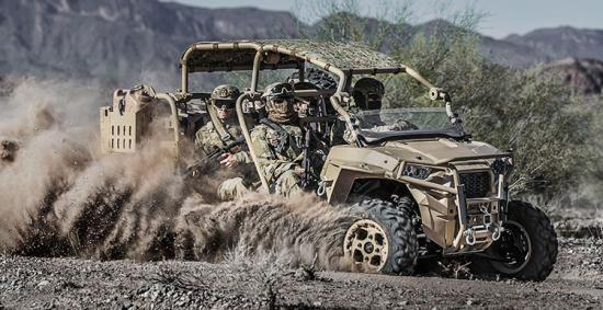 Amerikaanse mariniers krijgen badass golfkarretjes