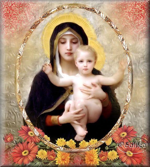 Santa María, Madre de Dios y Madre nuestra: La alegría de María
