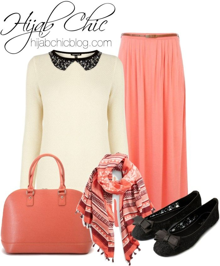 Hijab Style: River Island Maxi Skirt