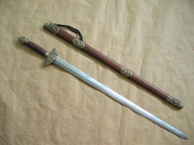 Chinese jian (long sword)