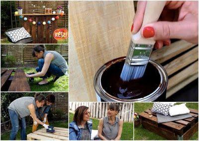 Boldog Blogok: Raklapos kerti ötletek első és második rész