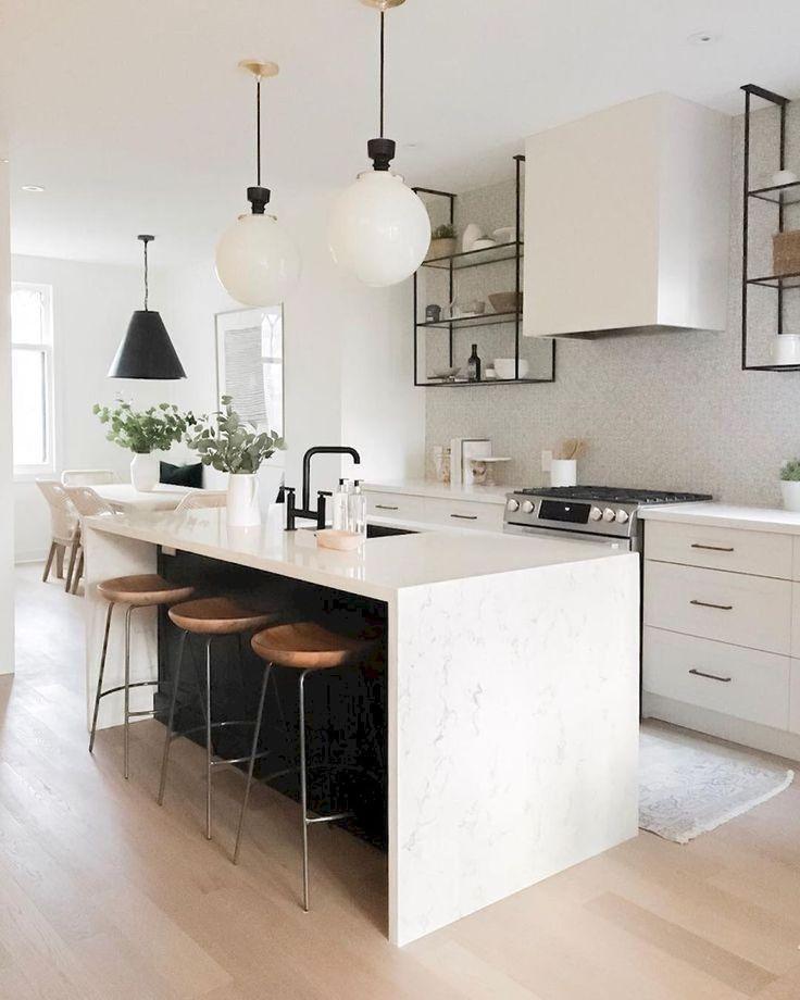 63 Great Ideas For Kitchen Islands Kitchen Design Small White Modern Kitchen Interior Design Kitchen