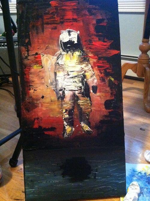 birthday gift Brand New jesse lacey astronaut deja entendu bn