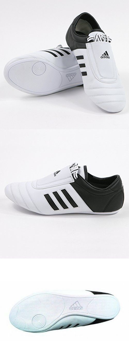 Shoes and Footwear 73989: Adidas Kick Shoes Martial Arts Sneaker White With Black Stripes -> BUY IT NOW ONLY: $58.99 on eBay!