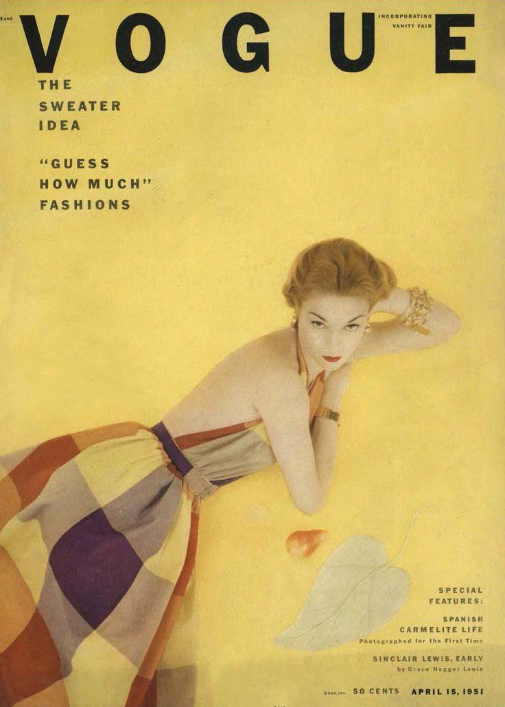 Vogue, April, 1951
