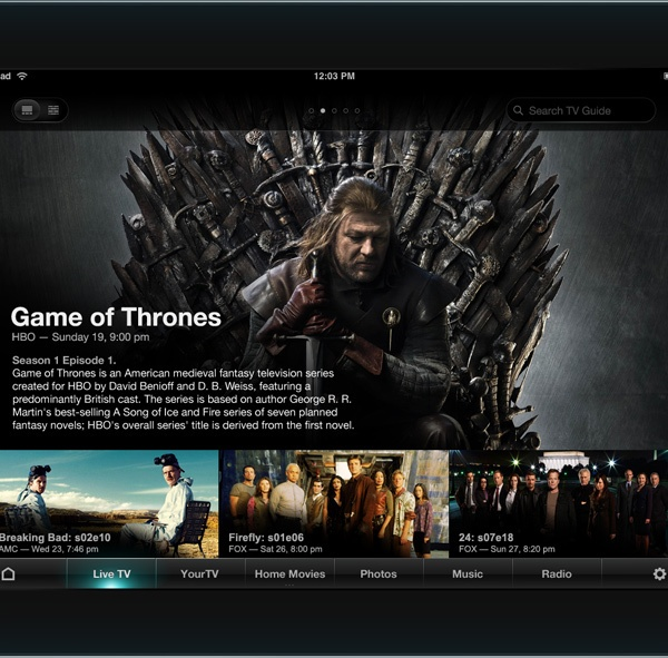 TV Guide UI