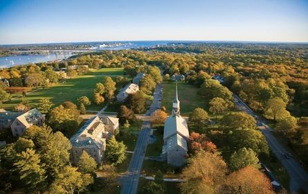 Connecticut College | Best College | US News - #45National Liberal Arts Colleges. Connecticut College is a private institution that was founded in 1911. It has a total undergraduate enrollment of 1,926, its setting is urban, and the campus size is 750 acres. It utilizes a semester-based academic calendar. Connecticut College's ranking in the 2014 edition of Best Colleges is National Liberal Arts Colleges, 45. Its tuition and fees are $46,085 (2013-14).