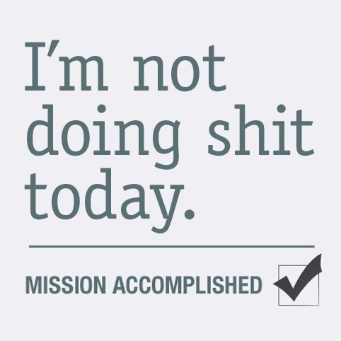 Today is going to be one of those days!