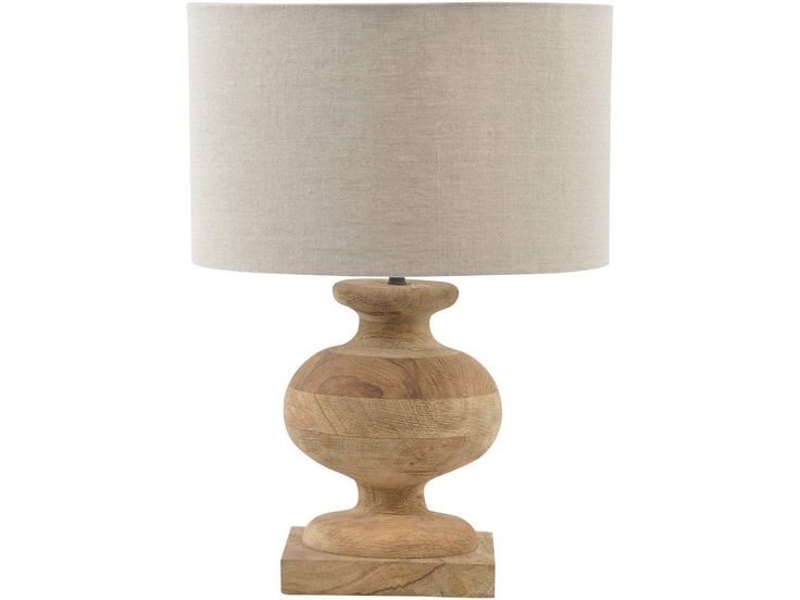 The turned wood table lamp is part of our range of modern table lamps that will light up your home in style. If you like the look of this urn shaped wooden table lamp, you might also want to take a look at these other items, similar in style to the natural wood table lamp you see here...