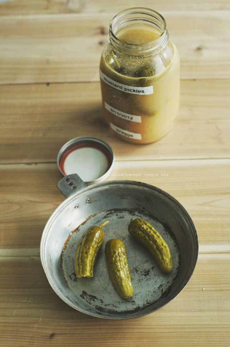 Sour Mustard Pickles — hipsterfood