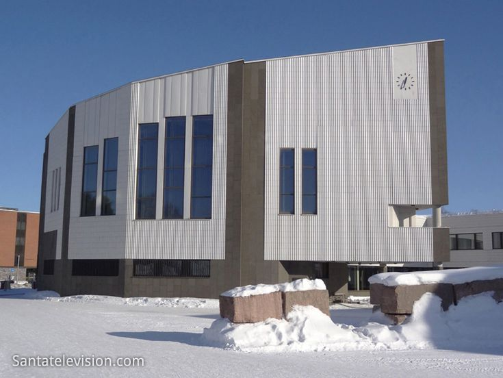 Finland most famous architect Alvar Aalvo have designed namely Rovaniemi town hall in Finland
