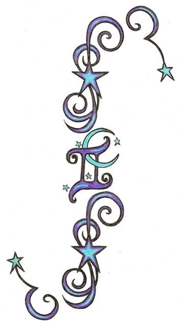 32 Best Gemini Tattoo Designs Images On Pinterest Ideas For