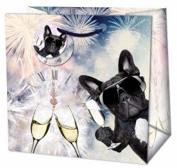Vánoční dárková taška velká - Silvester Party č. 216554 TL