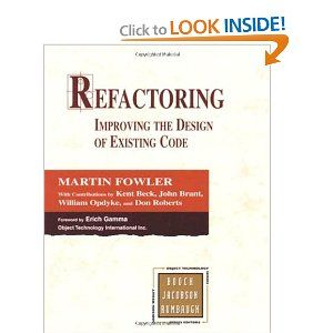 Refactoring: Improving the Design of Existing Code: Martin Fowler, Kent Beck, John Brant, William Opdyke, Don Roberts: 9780201485677: Amazon...