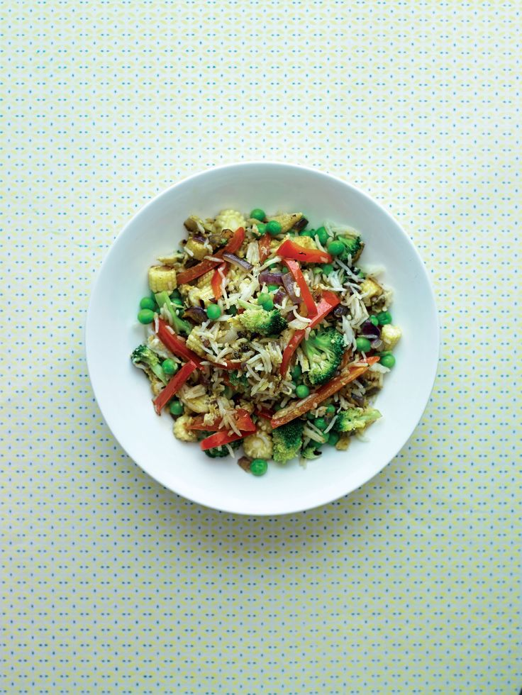 Quick egg-fried rice recipe from Thrive on Five by Randi Glenn | Cooked.com