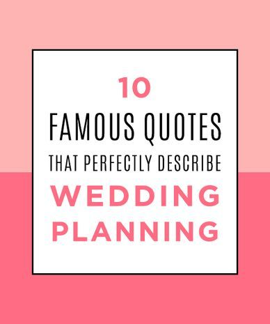 wedding planning quotes sayings