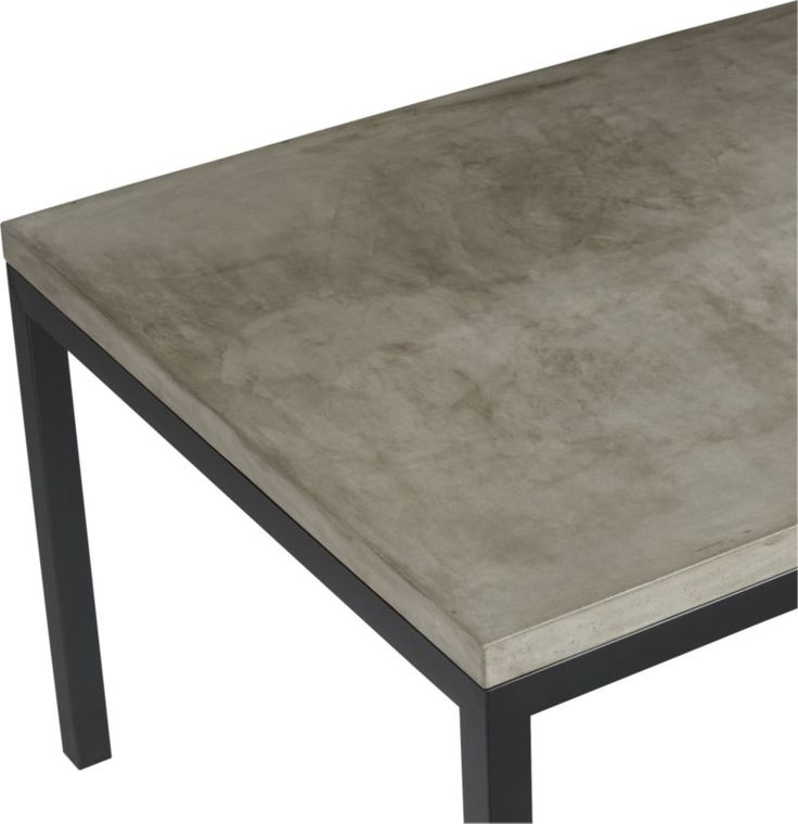 17 Best ideas about Concrete Top Dining Table on Pinterest  : f6372e053051fa35441d9904f2d3a1a7 from www.pinterest.com size 736 x 760 jpeg 37kB
