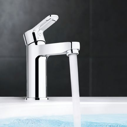 BLine Basin Mixer available at Bathrooms Online