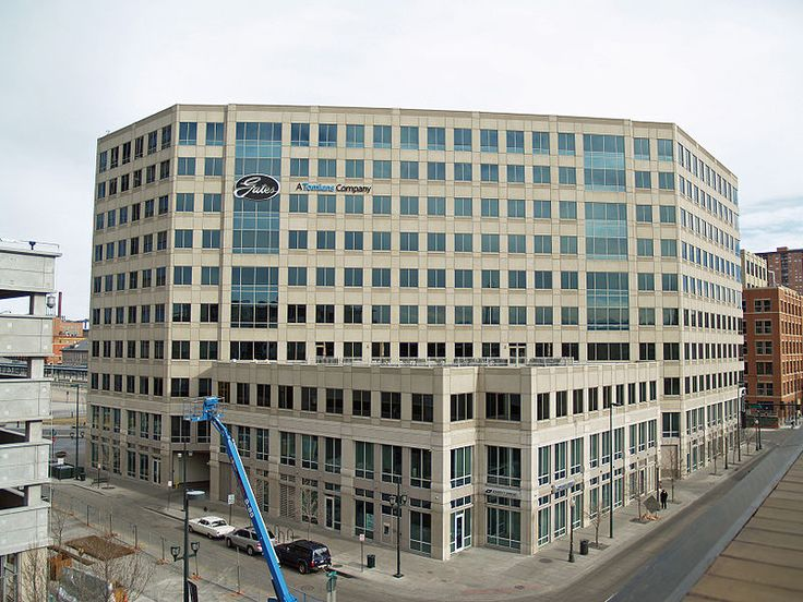 Gates Rubber Company headquarters in Denver Colorado - Gates Corporation - Wikipedia