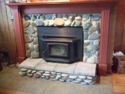 Wood Fireplace Surround Kit | Fireplace Insert Surround panels and Trims