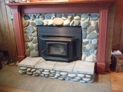 Wood Fireplace Surround Kit | Fireplace Insert Surround panels and Trims