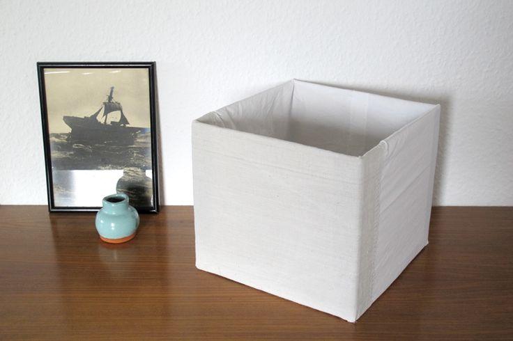 bezug bauernleinen k sten billy regal aufbewahrung stoff diy upcycling recycling selber basteln. Black Bedroom Furniture Sets. Home Design Ideas