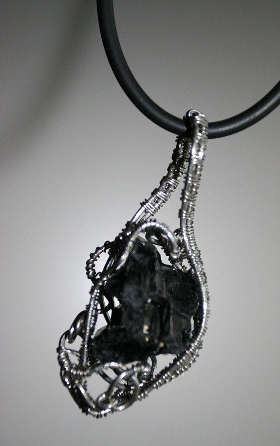 The pendant Black tourmaline ...