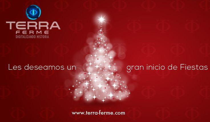En está nueva temporada del año Queremos desearle lo mejor de lo mejor Seguimos cumpliendo sueños, metas y logros Somos el equipo #TerraFerme www.terra-ferme.com