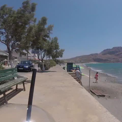 #Happy #Sunday everyone😀 #cycling near the #sea 💦🚴🏻#morning #coffee #Summer🌞 #Greece #Crete #Plakias🇬🇷 #vine