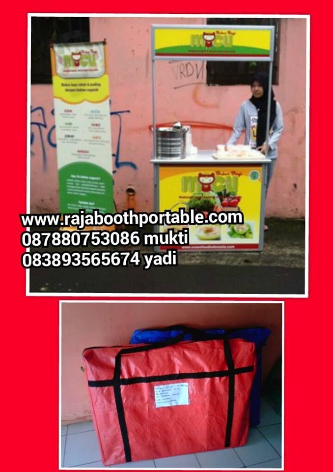 booth portable cocok untuk jualan outdoor maupun indoor