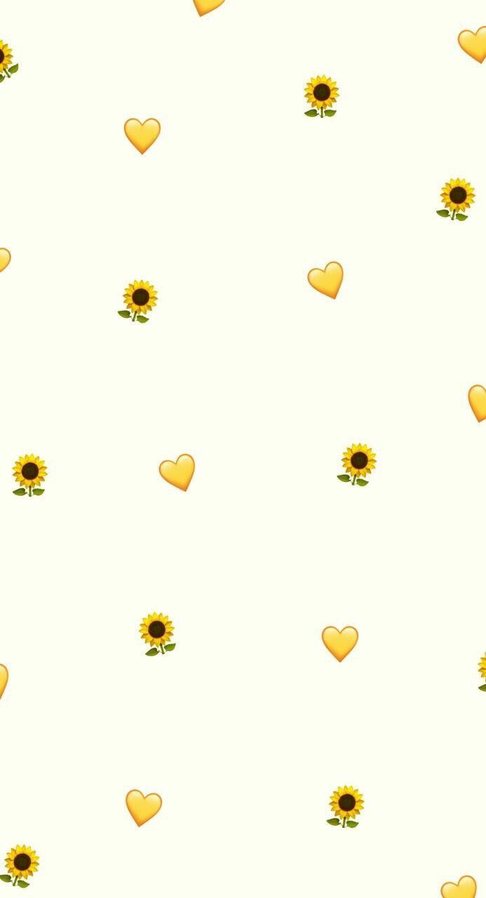 Pin By Arnnette On Wallpapers Emoji Wallpaper Sunflower