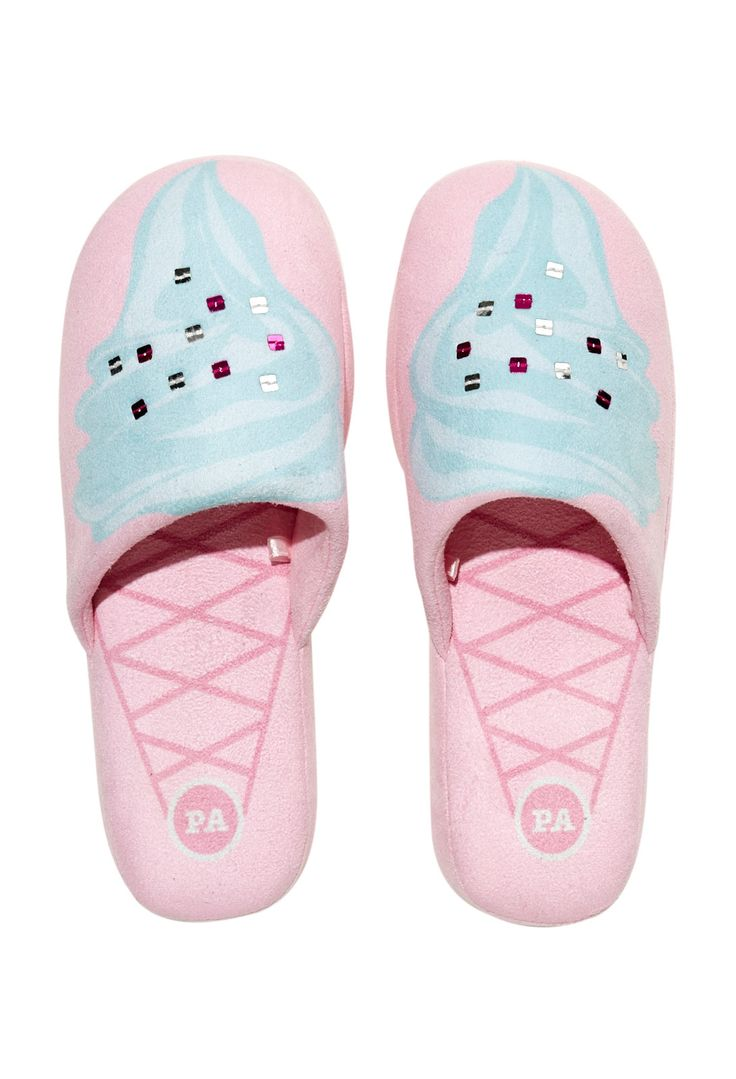 Image for Ladies Ice Cream Scuff from Peter Alexander