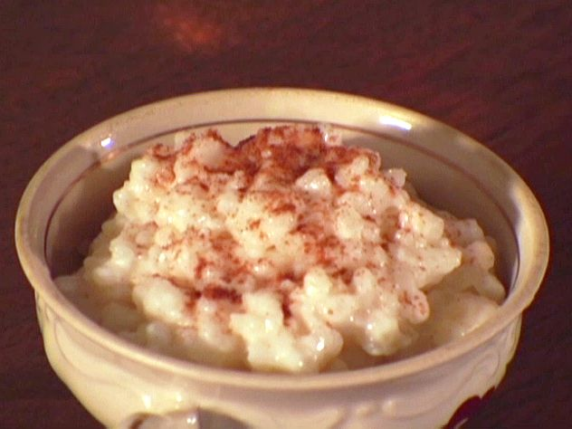 Arborio Rice Pudding Recipe : Dave Lieberman : Food Network - FoodNetwork.com Sounds strange I know, I add 1 bay leaf to the mix, then remove before serving.