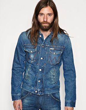 Enlarge Bluebell by Wrangler Trevor Vintage Finish Denim Jacket