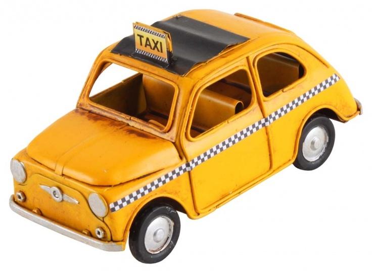 "Machetă auto ""Yellow cab"""