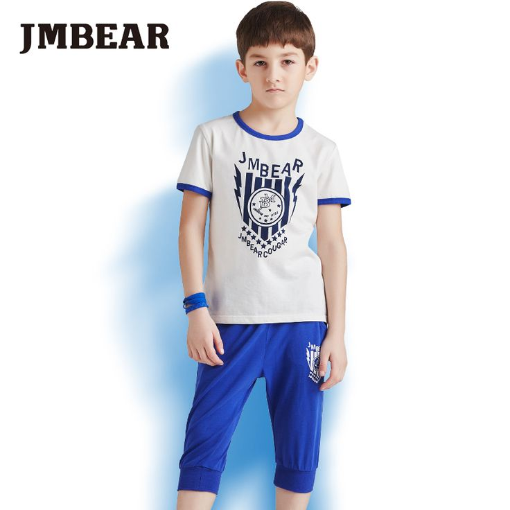 Find More Clothing Sets Information about JMBear Brand 2016 new spring kids clothes short sleeve cotton T shirt Tops +Pants casual boys clothing Set,High Quality clothes coat,China clothes punk Suppliers, Cheap t-shirt set from JMBEAR Specialty store on Aliexpress.com
