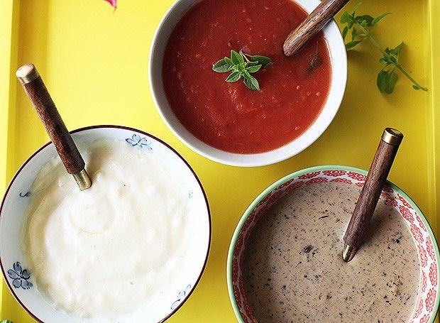 Três molhos básicos - Molho aos quatro queijos, tomate e funghi (Foto: Rogério Voltan)