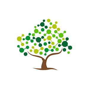 """This Pin is another view of """"green"""" in the economy and the way the """"leaves"""" on the tree are depicted made me think of the network of green-related business that Thomas Friedman mentioned in the interview as one of the 8 new jobs of the middle class."""