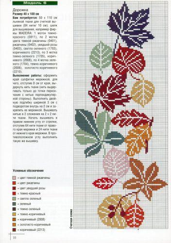 Cenefa de hojas secas