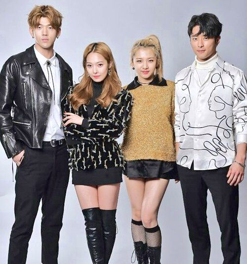 K.A.R.D- BM, Somin, JiWoo and J.Seph