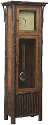 33% OFF Amish Furniture - Hand Crafted Shaker and Mission Furniture Online Outlet Store: Old Country Grandfather Clock w/Pendulum: Oak