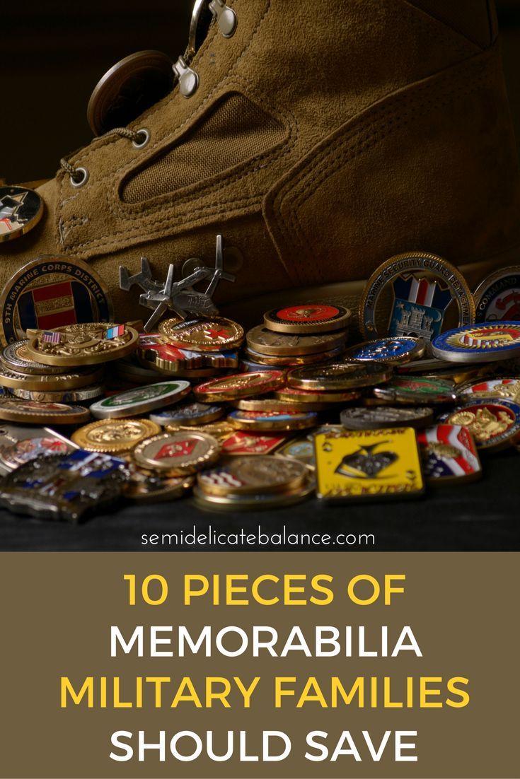 10 Pieces of memorabilia military families should save
