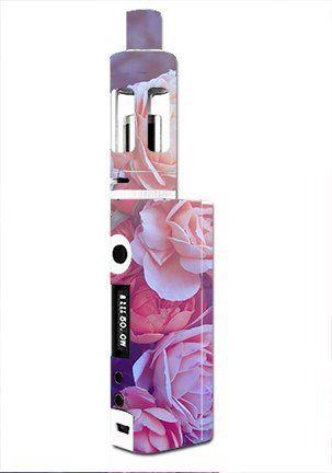 Skin Decal Vinyl Wrap for Kanger Tech Subbox Mini Vape Mod Box / Pink Roses