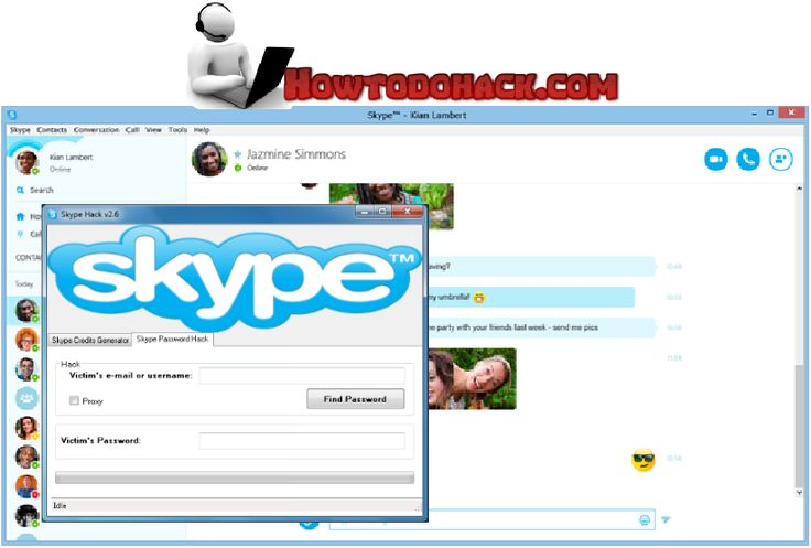 Skype Account Hacker 2016 No Survey Free Download http://www.howtodohack.com/skype-account-hacker-2016/