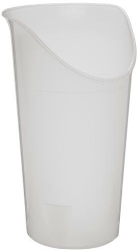 Ableware 745930614 Clear Nosey Cup Clear (Box of 6) by Ableware. Save 35 Off!. $23.61. Ideal for people who have oral motor limitations, limited range of motion of the head, neck or upper extremities, or arthritis. The cup is designed to allow the user to drink with little or no shoulder flexion, wrist extension or head/neck movement, even if wearing a cervical collar. Special design provides space for eyeglasses. Dishwasher safe. Plastic. Holds 8 oz.