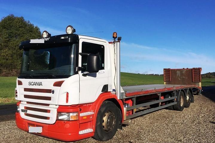 Scania P 230 6x2 Maschinen Transport