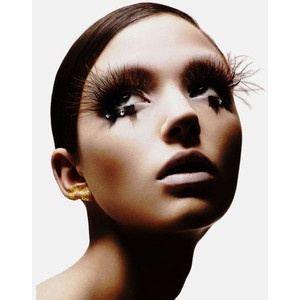 Bird HighFeathers Lashes, False Eyelashes, Makeup, Beautiful, False Lashes, Shu Uemura, Shuuemura, Feathers Eyelashes, Forefront